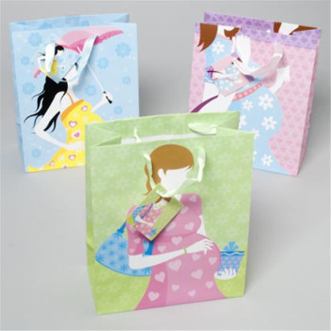 DDI 1933785 Gift Bag Paper Baby Shower