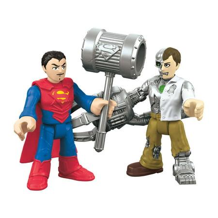 Imaginext DC Super Friends Superman and Metallo Black Hand Dc Comics
