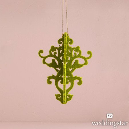 Weddingstar 9502-03 Decorative Artificial Moss Chandelier Small Classical Green - Decorative Chandelier