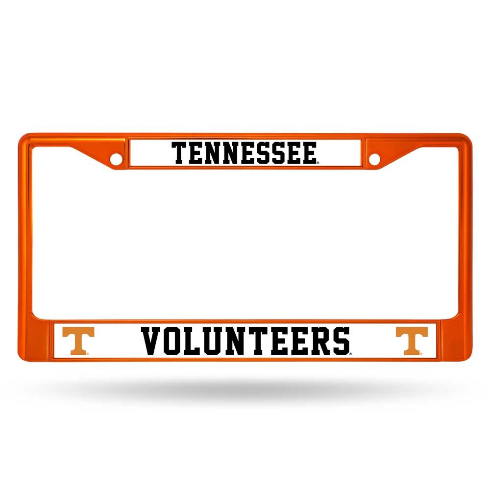 Rico Tennessee Volunteers Metal License Plate Frame - Orange