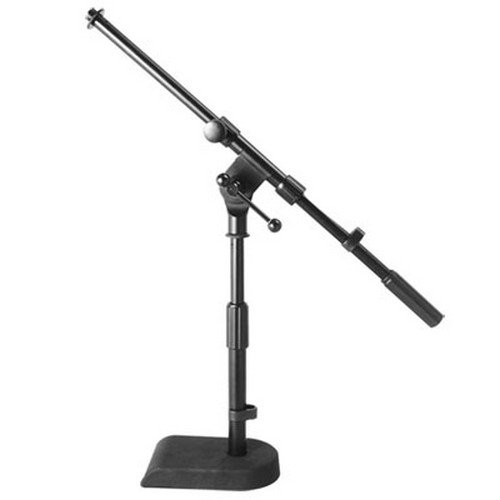 """On Stage MS7920B 8-14"""" Adjustable Bass Kick Drum Amp Boom Combo Microphone Stand by"""