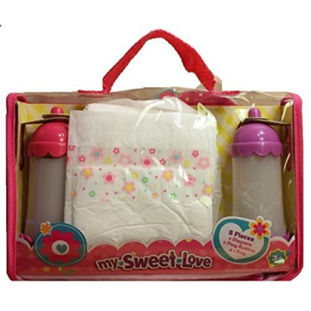 5 Pieces Baby Doll Diapering Set by My Sweet Love