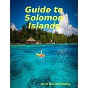 Guide to Solomon Islands - eBook