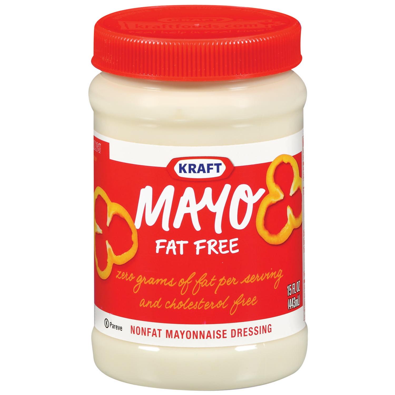 Kraft Nonfat Mayonnaise, 15 oz