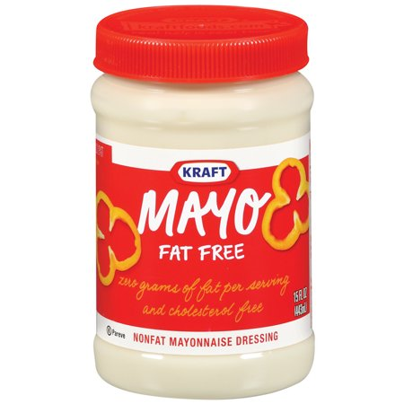 Kraft Mayo Mayonnaise Fat Free, 15 FL OZ (443ml) Jar