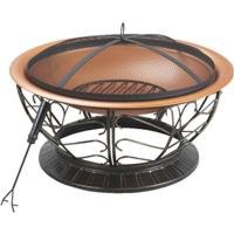 Do It Best Global Sourcing: 30 Inches Steel Copper Firepi...