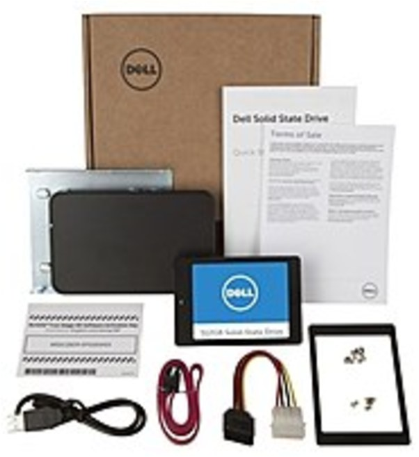 Refurbished Dell SNP110SK/512G 512 GB 2.5-Inch 6 Gbps SATA Internal SSD Upgrade Kit for Desktops and Notebooks