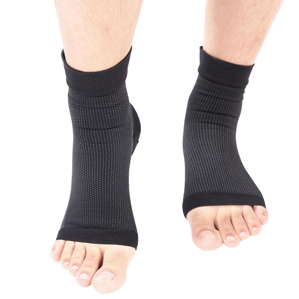 VBESTLIFE 2x Elastic Ankle Support Brace Compression Wrap Sleeve Sports Relief Pain Foot