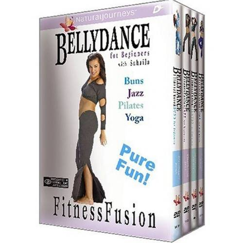 Bellydance For Beginners: Fitness Fusion Buns   Jazz   Pilates   Yoga (Full Frame, Widescreen) by