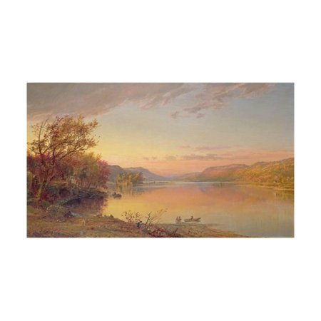 Lake George, NY, 1871 Print Wall Art By Jasper Francis (Ny Moving Wall Art)