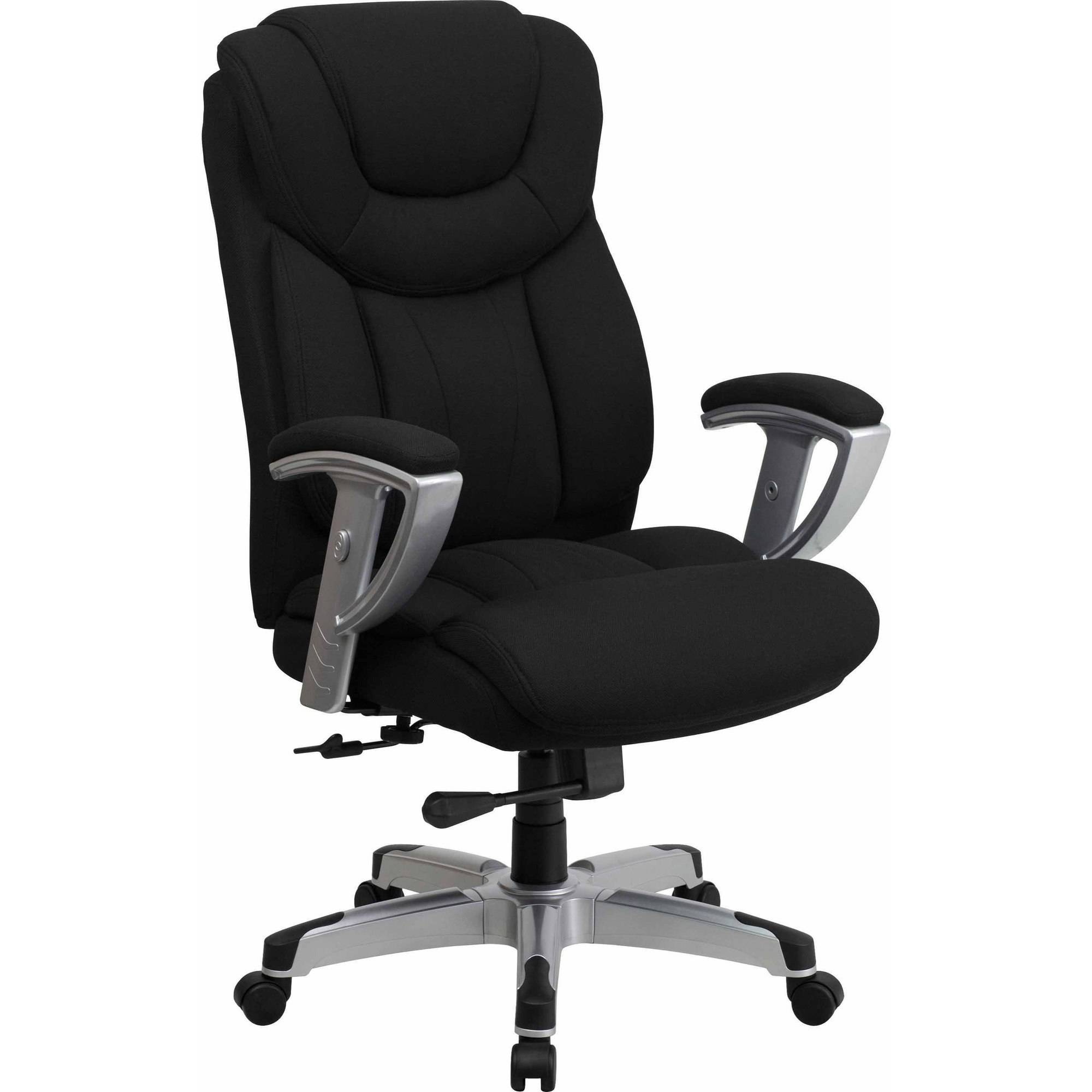 Office Chairs Adjustable Arms flash furniture hercules series 400-pound capacity big & tall