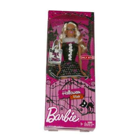 Mattel Halloween Star Barbie Doll Dressed in Cat Costume Trick or Treat (Boo-tiful Halloween Barbie)