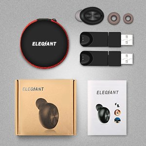 Mini Wireless h Earbuds Headphones Magnetic USB Charging Mini In-ear Headset Earbud Earphone Hands-free With Noise Reduction Built-in Mic for Office Business  - image 3 de 8