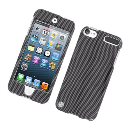 Insten Carbon Fiber Hard Case For Apple iPod Touch 5th Gen - Dark