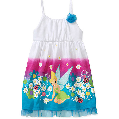Disney Baby Girls' Tinkerbell Printed Dr