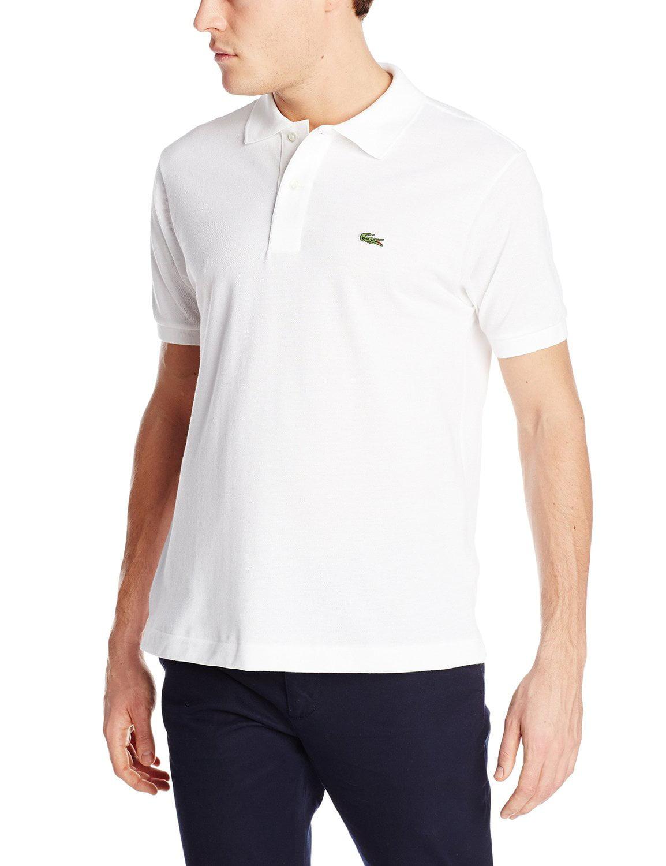 d2a9f022a9 adidas - Lacoste Short Sleeve Classic Pique Polo Shirt - Mens - Walmart.com