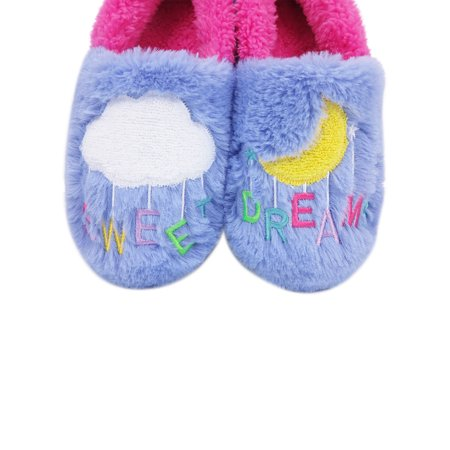 Wonder Nation Sweet Dreams Closed Back Aline Slipper (Little Girls & Big Girls)