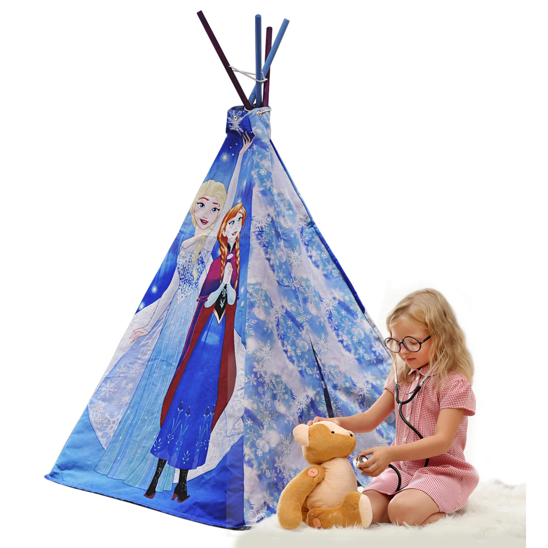 Disney Frozen Teepe Play Tent With Bonus Carry Bag
