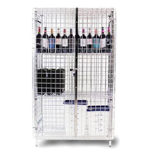 Thunder Group Inc. 3 Tier 2 Wide Storage Locker