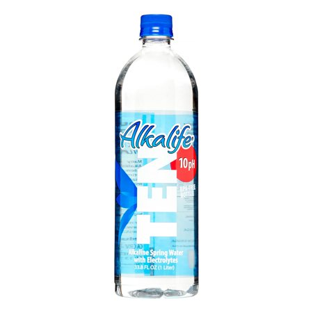 Image of Alkalife TEN Natural Spring Alkaline Water, 33.8 Fl Oz