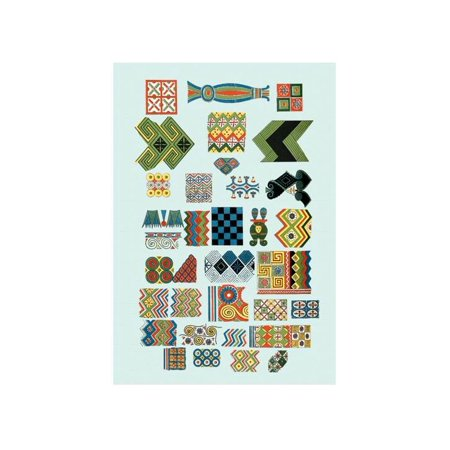 Patterns From Egyptian Ceilings Print (Unframed Paper Print