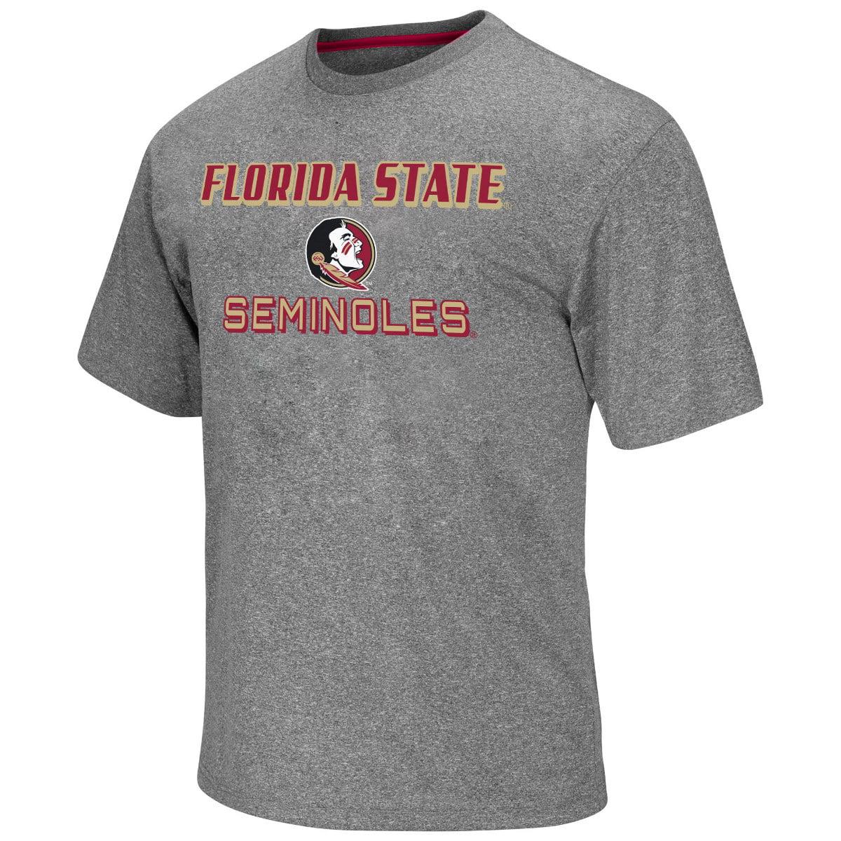 "Florida State Seminoles NCAA ""Arena"" Men's Performance Shirt - Charcoal"