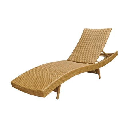 International caravan barcelona all weather wicker chaise for Barcelona chaise lounge