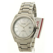 PXH669 Mens Stainless Steel Silver Dial Date 5Atm Casual Watch