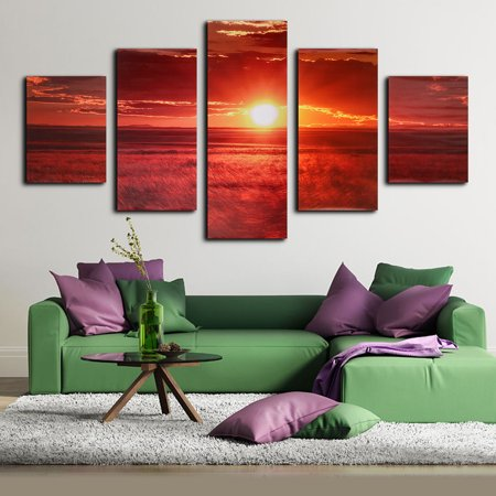 my way 1 2 3 5 pcs frameless canvas prints pictures morden
