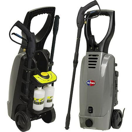 1800psi Electric Pressure Washer Auto Shutoff With Accessories
