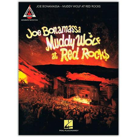 Hal Leonard Joe Bonamassa - Muddy Wolf at Red Rocks Tab Guitar Songbook Authentic Guitar Tab Songbook