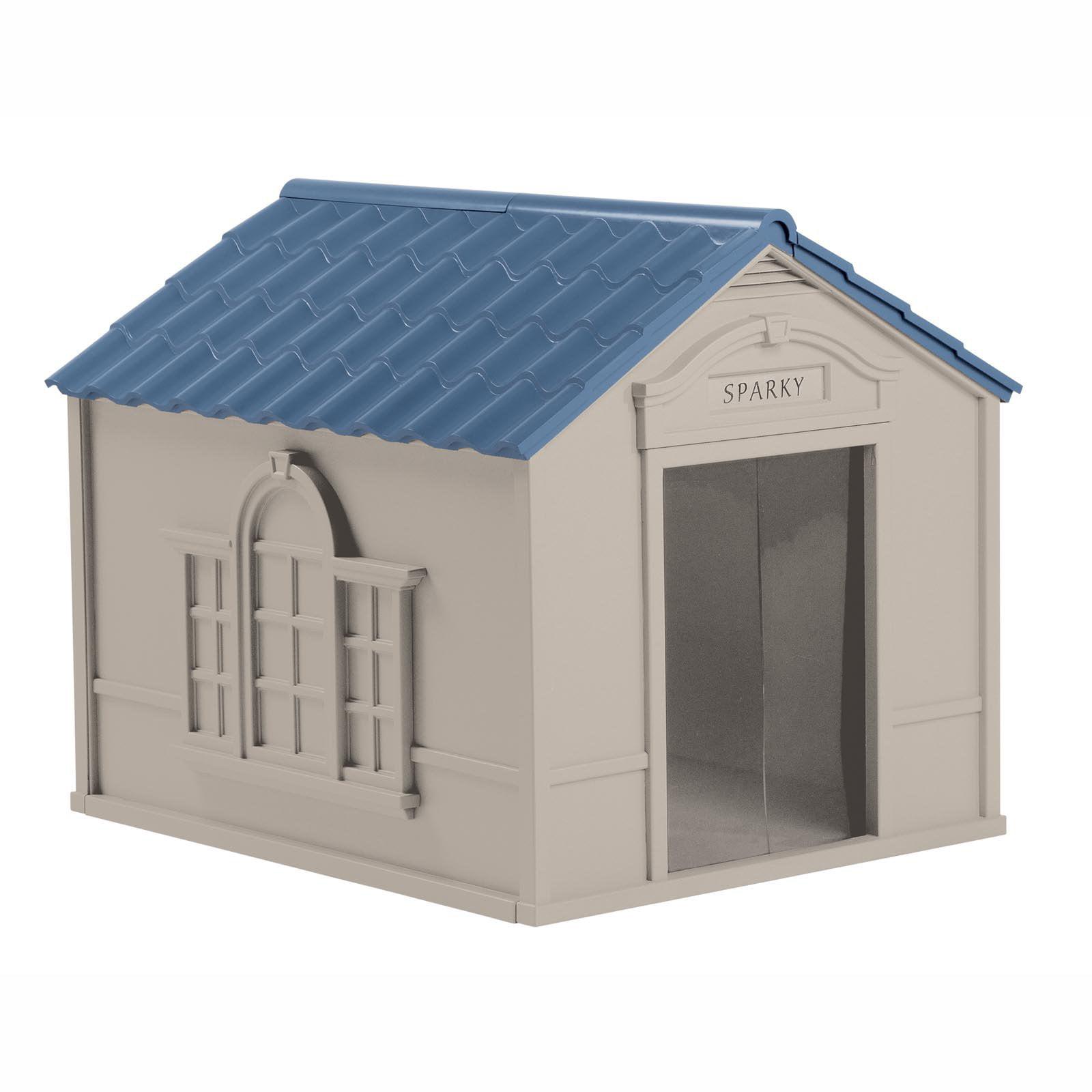Suncast Deluxe Dog House, DH350   Walmart.com