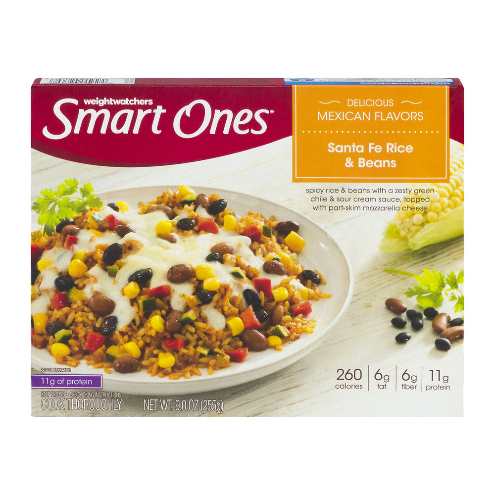 Weight Watchers Smart Ones Santa Fe Rice & Beans, 9.0 OZ