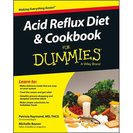 For Dummies: Acid Reflux Diet and Cookbook for Dummies (Paperback)
