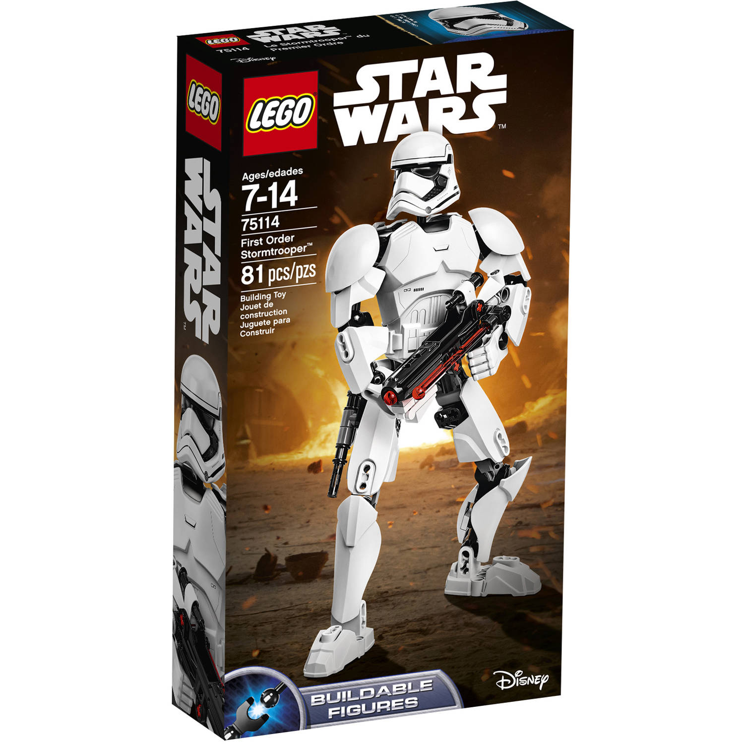 LEGO Constraction Star Wars First Order Stormtrooper 75114