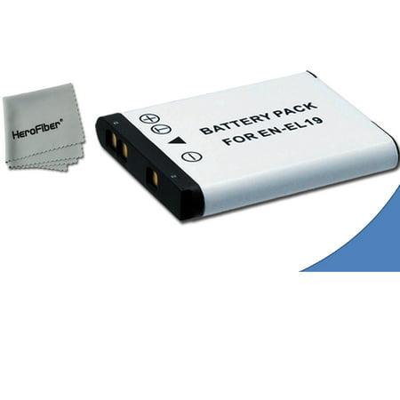 High Capacity Replacement Nikon EN-EL19 Battery for Nikon Coolpix S5300 Digital Camera (Nikon Digital Camera Battery)