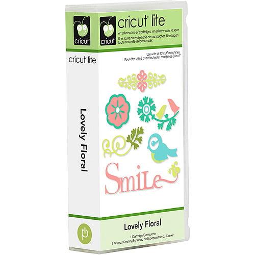 Cricut Lite Cartridge, Lovely Floral