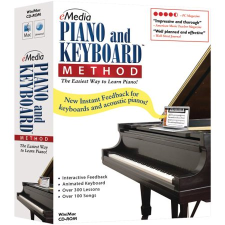 Emedia Music Piano and Keyboard Method v.3.0 - Complete Product - 1 User - Music Editing/Composing - Standard Retail - CD-ROM - Mac, PC