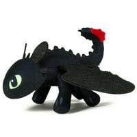 "DreamWorks Dragons, Action Dragon 8"" Plush, Toothless"