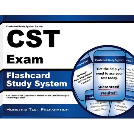 Flashcard Study System for the CST Exam : CST Test Practice Questions and Review for the Certified Surgical Technologist