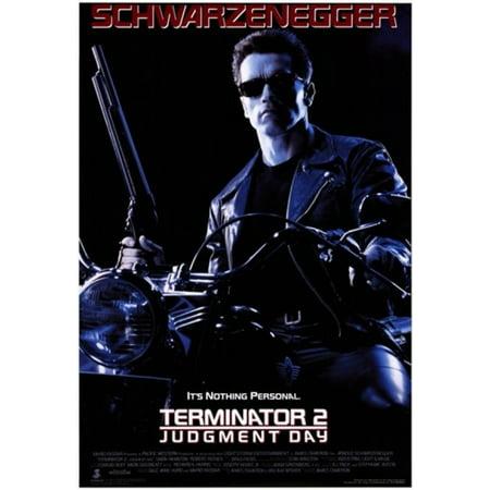 Terminator Wall - Terminator 2 Judgment Day Movie Poster (11 x 17)