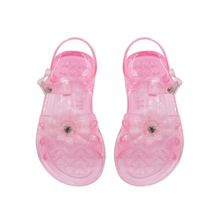 Sara Z Flower Jelly Sandals