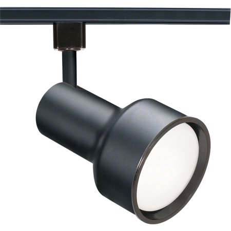 Nuvo TH356 Black 1 Light - CFL R30 Step Cylinder Track - Step Cylinder Track