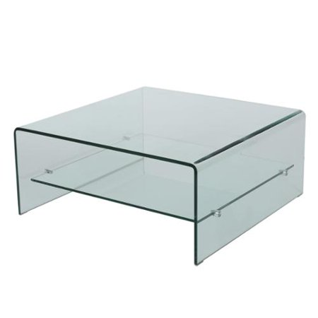 Adelle Tempered Glass Coffee Table