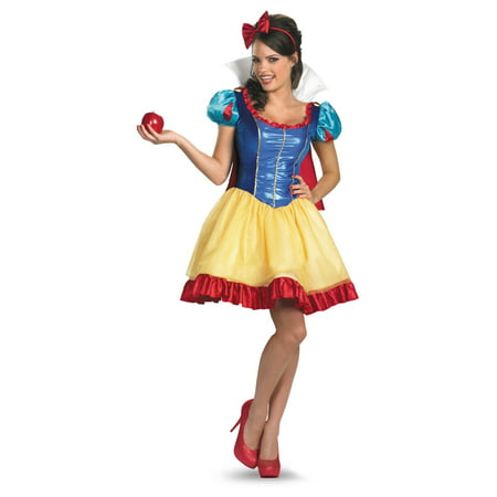 snow white adult disney movie costume deluxe walmartcom