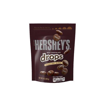 Hershey's Milk Chocolate Drops, 8 Oz (Pack of 3) (Hershey Chocolate Drops)