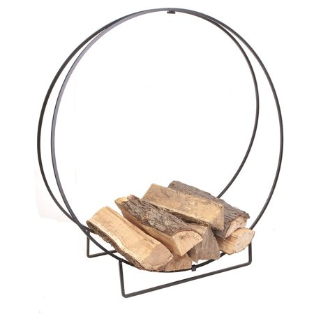 - 15210 40-Inch Solid Steel Log Hoop, 40-inch log hoop By Panacea