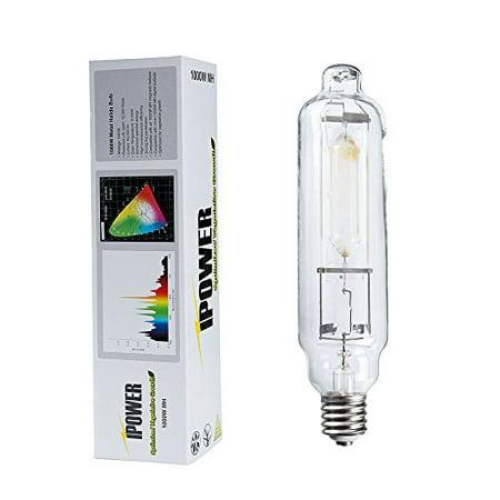 iPower 1000 Watt Metal Halide MH Grow Light Lamp Bulb with Full Spectrum, 6000K