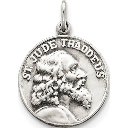 Argent 925 Saint Jude Thaddeus M?daille - image 1 de 2