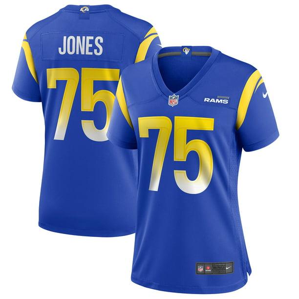 Deacon Jones Los Angeles Rams Nike Women's Game Retired Player Jersey - Royal